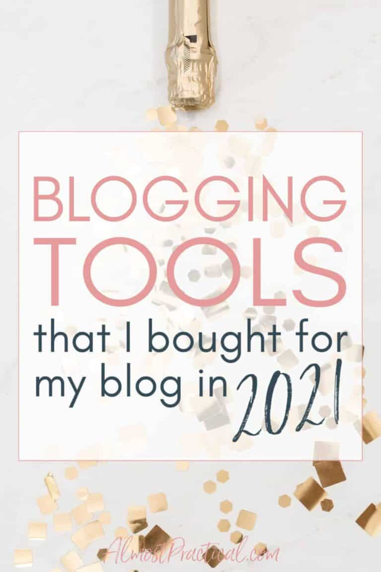 Blogging Tools that I Bought for 2021