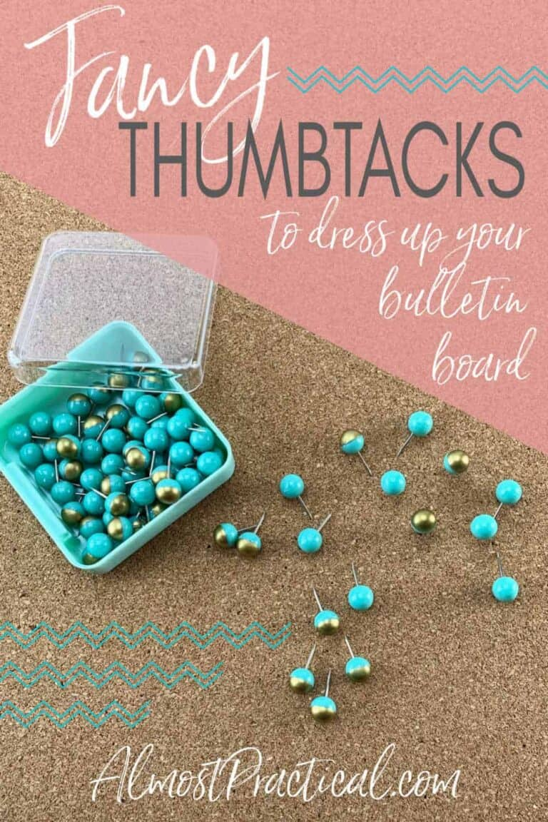 Fancy Thumbtacks to Dress Up Your Bulletin Boards