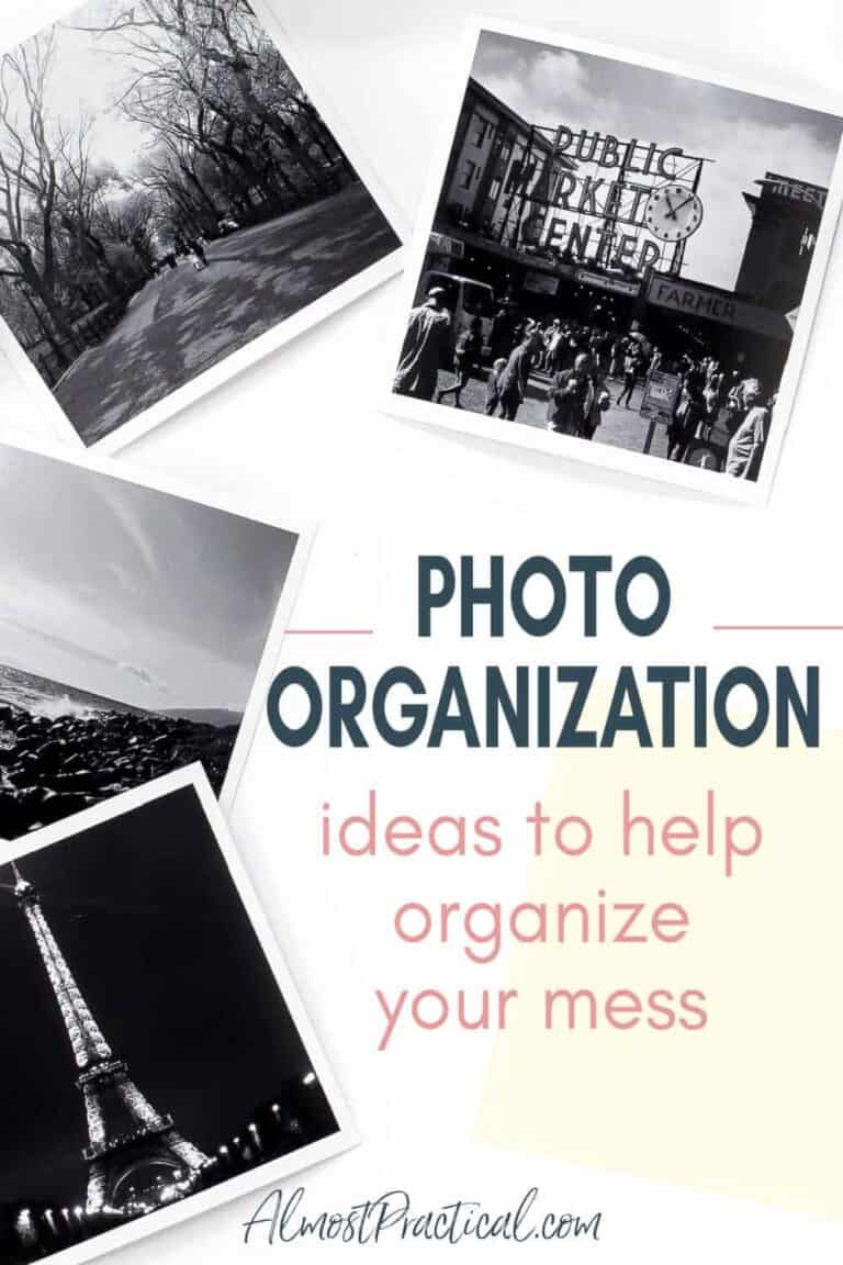 Photo Organization – My journey to organize my mess of pictures.
