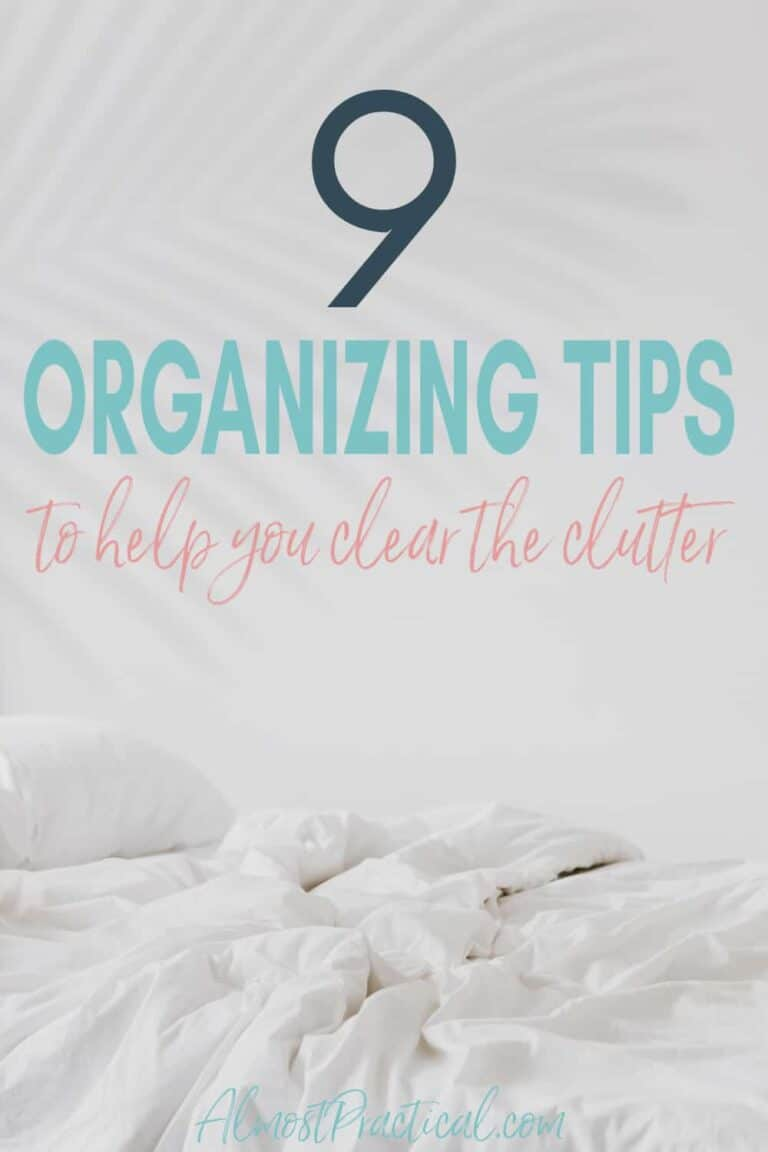 9 Organizing Tips to Help Clear the Clutter