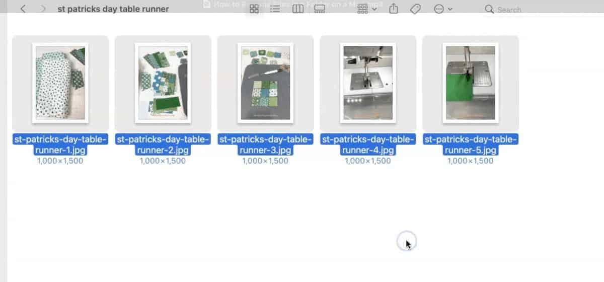 all files in folder renamed