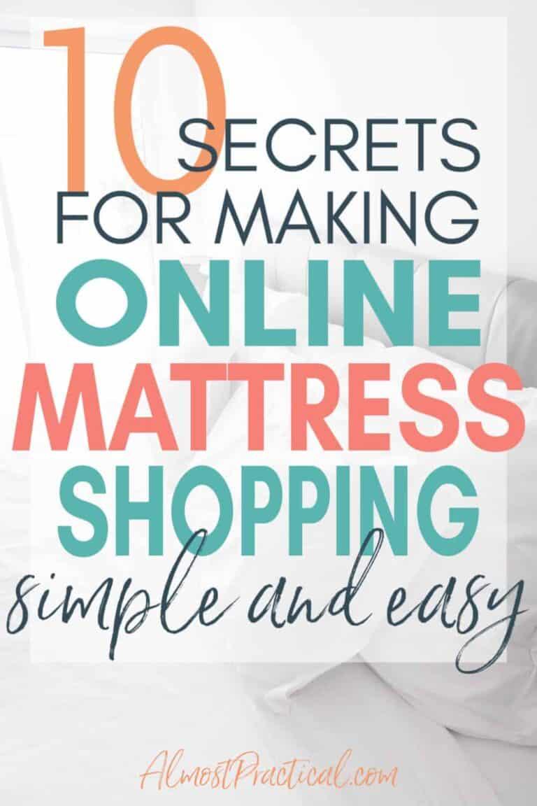 10 Secrets for Making Online Mattress Shopping Easier