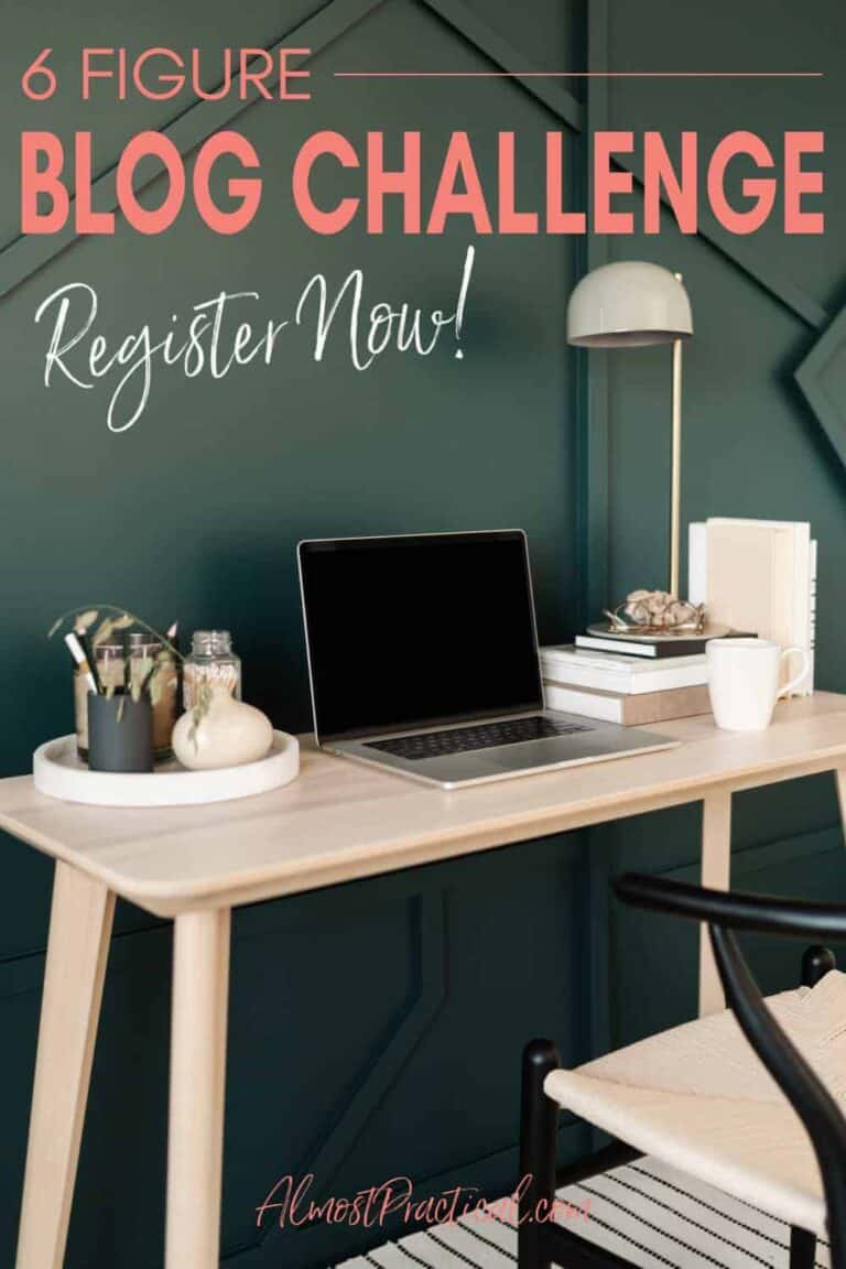 6 Figure Blog Challenge – Are You In?