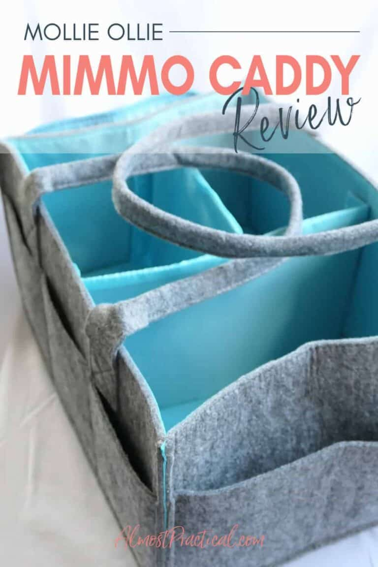 The Mimmo Caddy by Mollie Ollie – for baby, planners, crafts, and more!