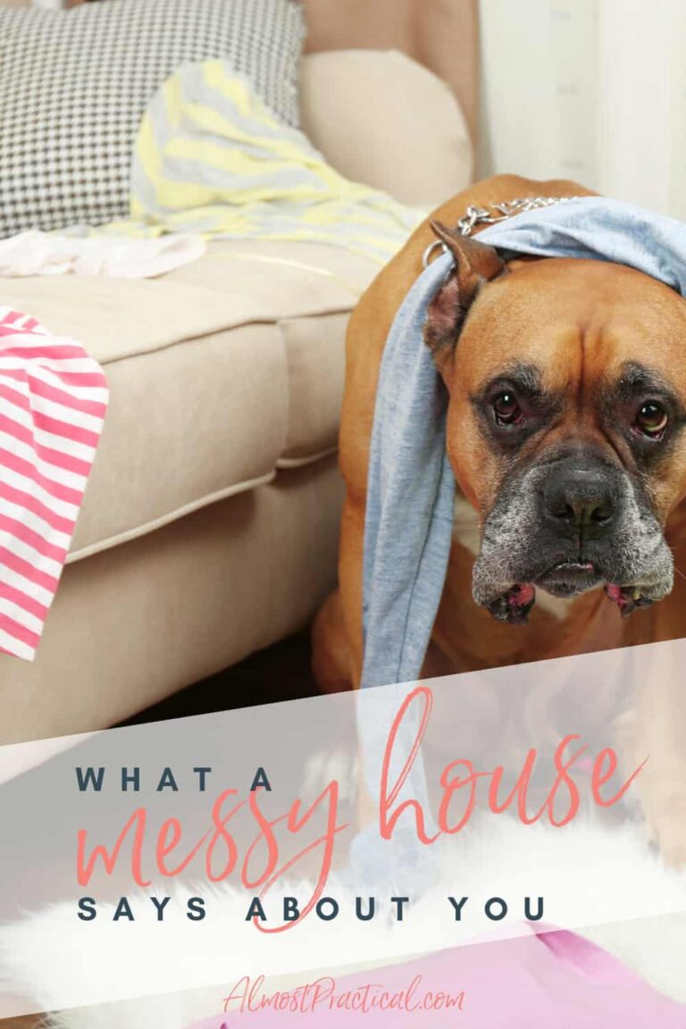 What a Messy House Says About You and What To Do About It