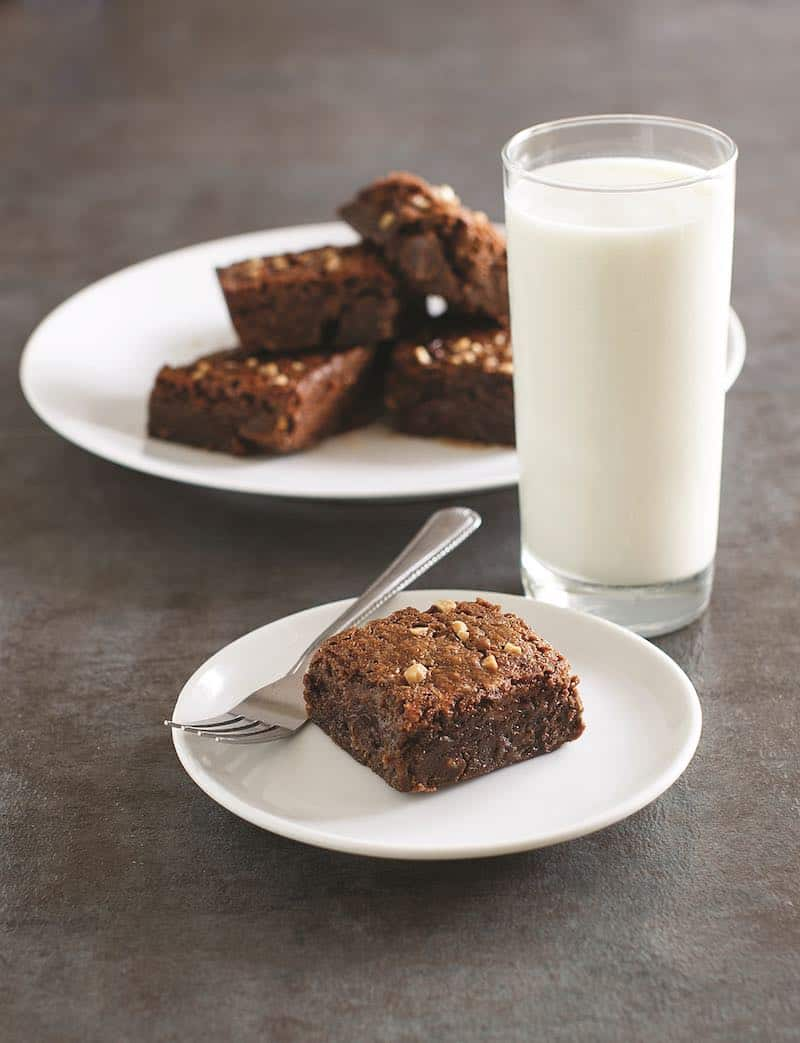 Gluten Free Toffee Chip Brownies for the Instant Pot