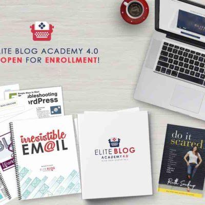 Elite Blog Academy 4.0 – The Doors are Open!
