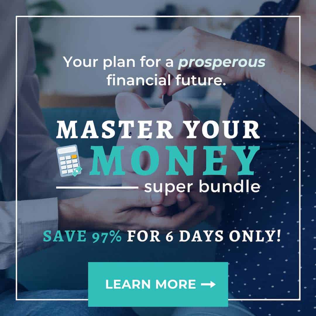 The master your money super bundle from ultimate bundles