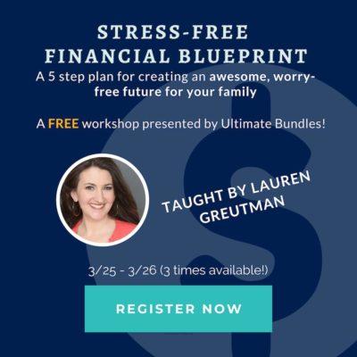 The Stress Free Financial Blueprint Webinar