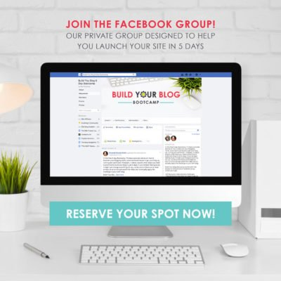 Build Your Blog Bootcamp – Registration is Open