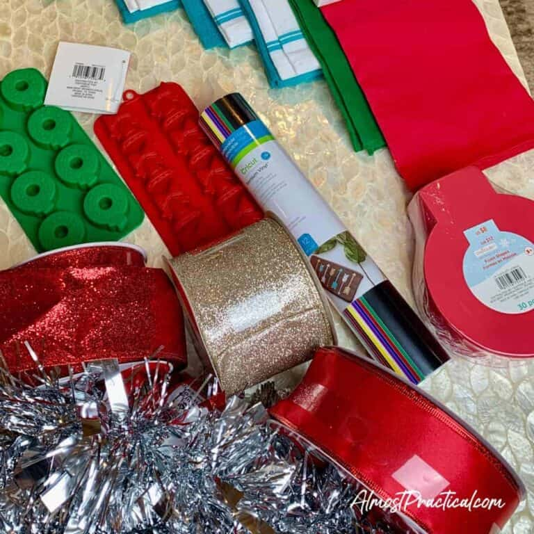 cheap craft supplies for cricut projects