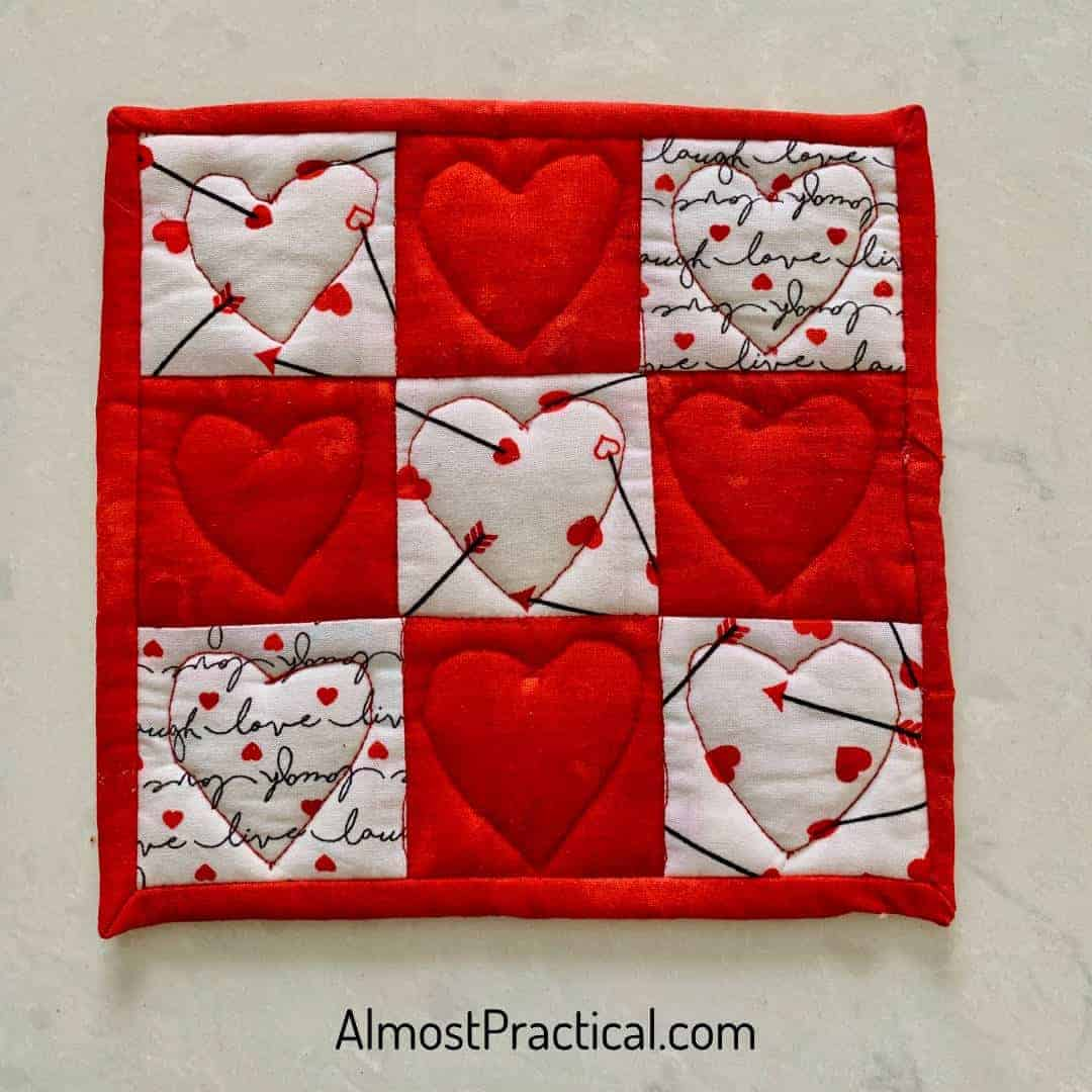 Valentine's Day Potholders