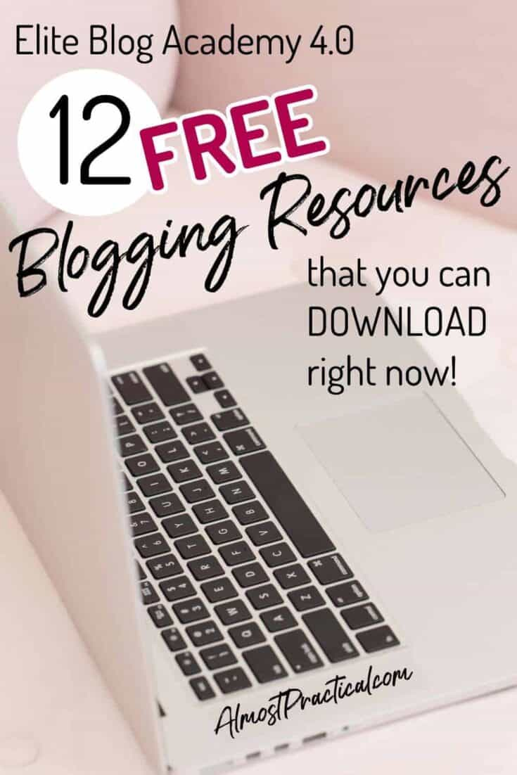 12 Free Blogging Resources that You Can Download Right Now