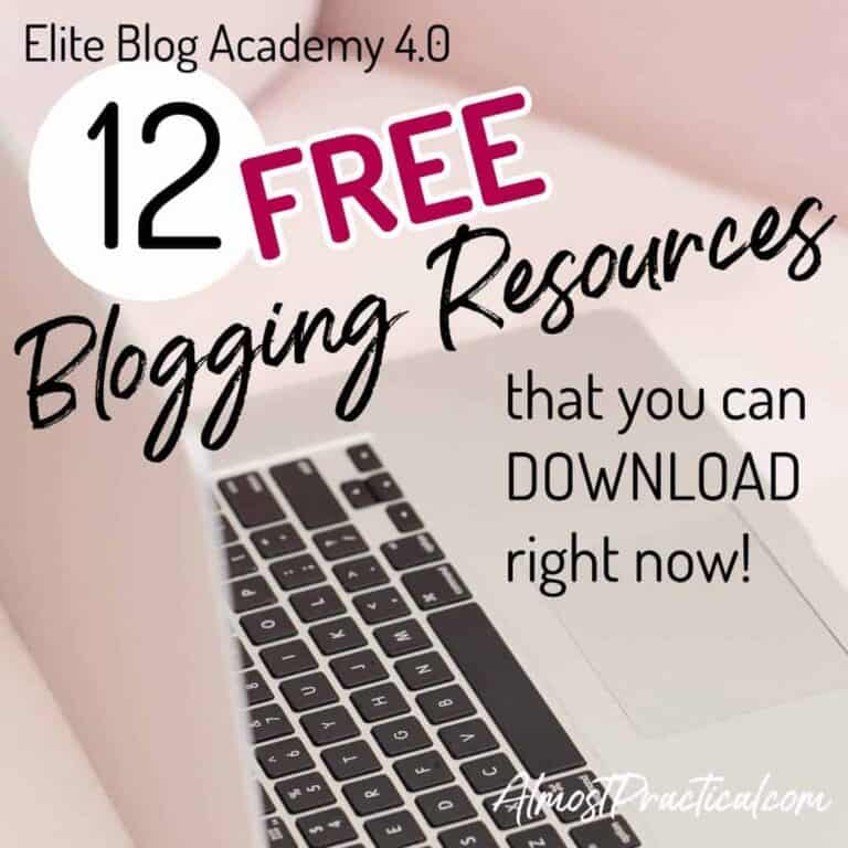 Elite Blog Academy 4.0 – 7 FREE Resources You Can Download Right Now!
