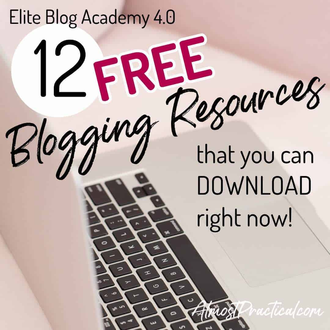 Elite Blog Academy Free Resources