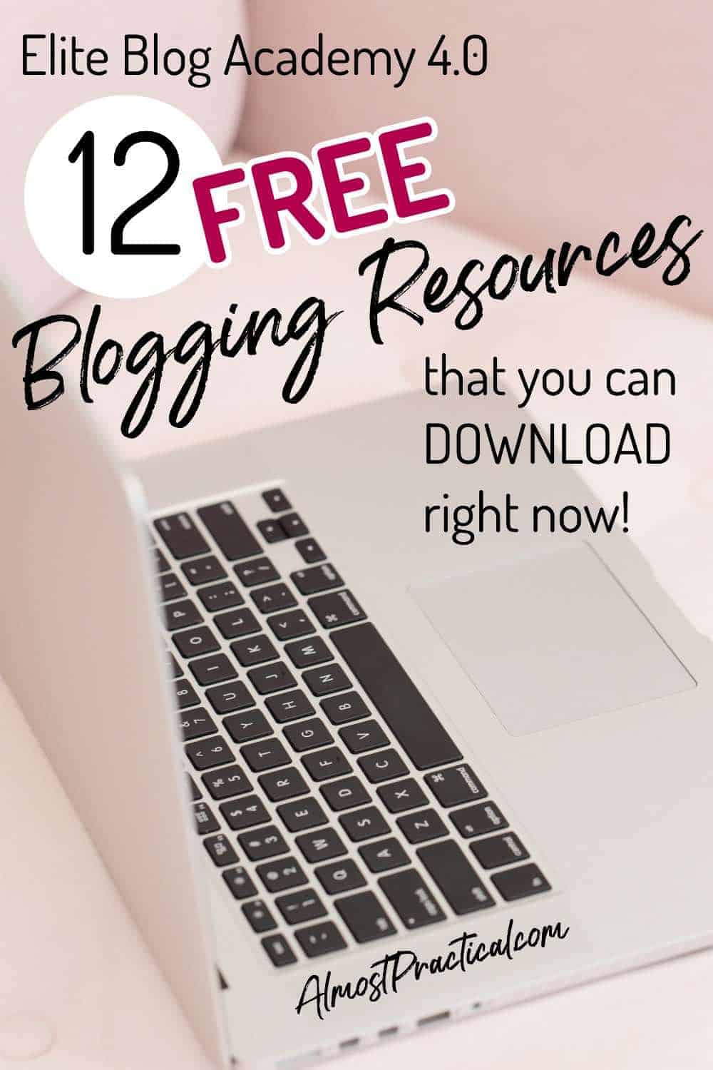 Free blogging resources that you can use to make your blog better. Use these tools and learn everything from how to organize your blog, to finding content ideas for your blog posts, to how to make money blogging. #blogging