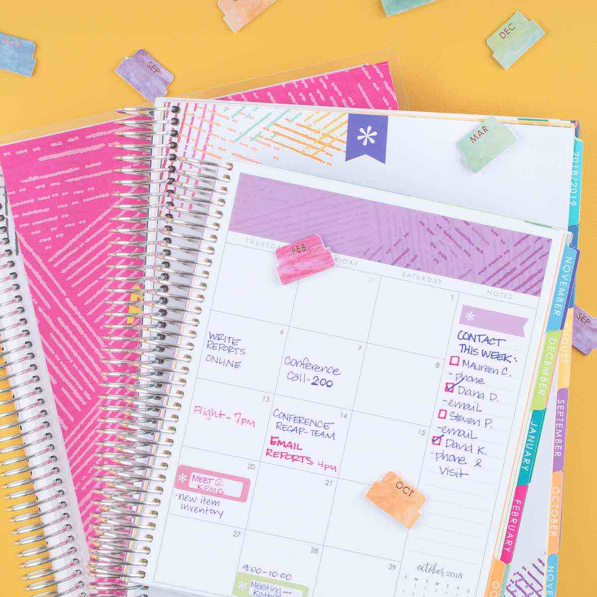 Deluxe Monthly Planner Overview
