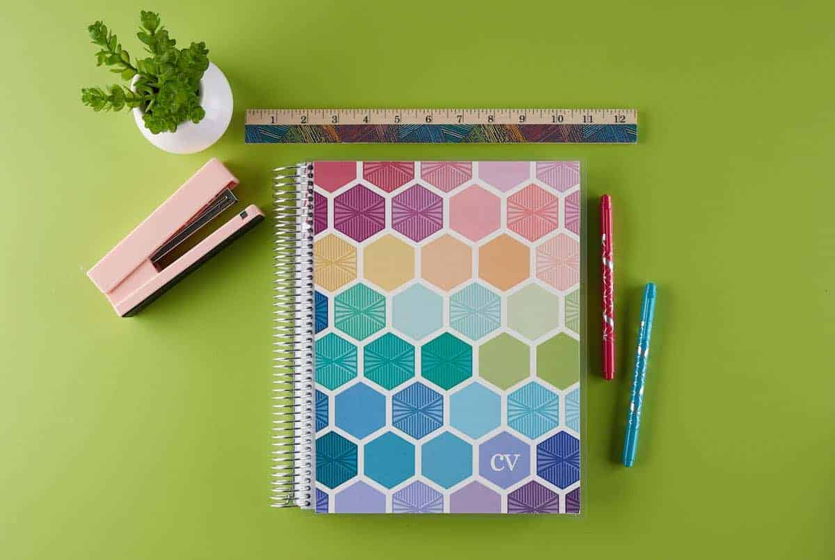 Erin Condren Deluxe Monthly Planner Sizes