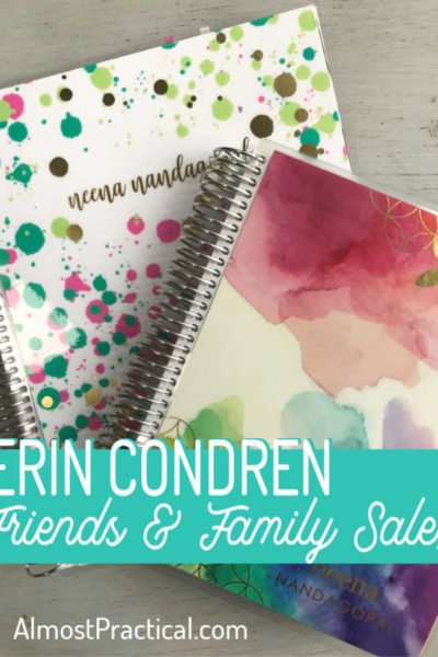 Erin Condren Friends and Family Sale – Don't Miss It!