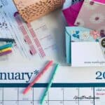 erin condren products - calendars and notecards