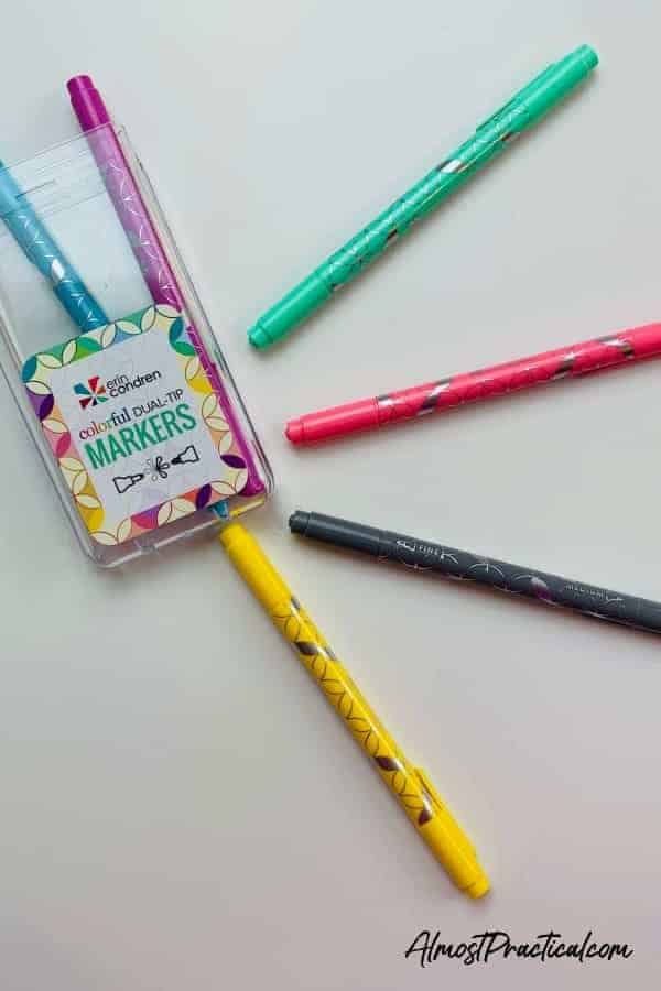 Erin Condren Colorful Dual Tip Markers