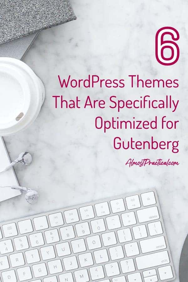 WordPress Themes for Gutenberg