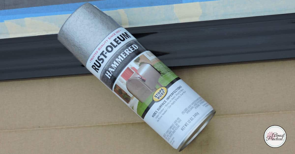 Rust-Oleum Hammered Texture Spray Paint