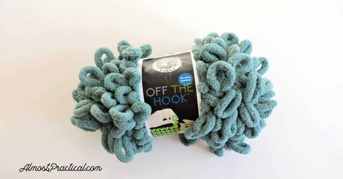 Lion Brand Off The Hook Yarn