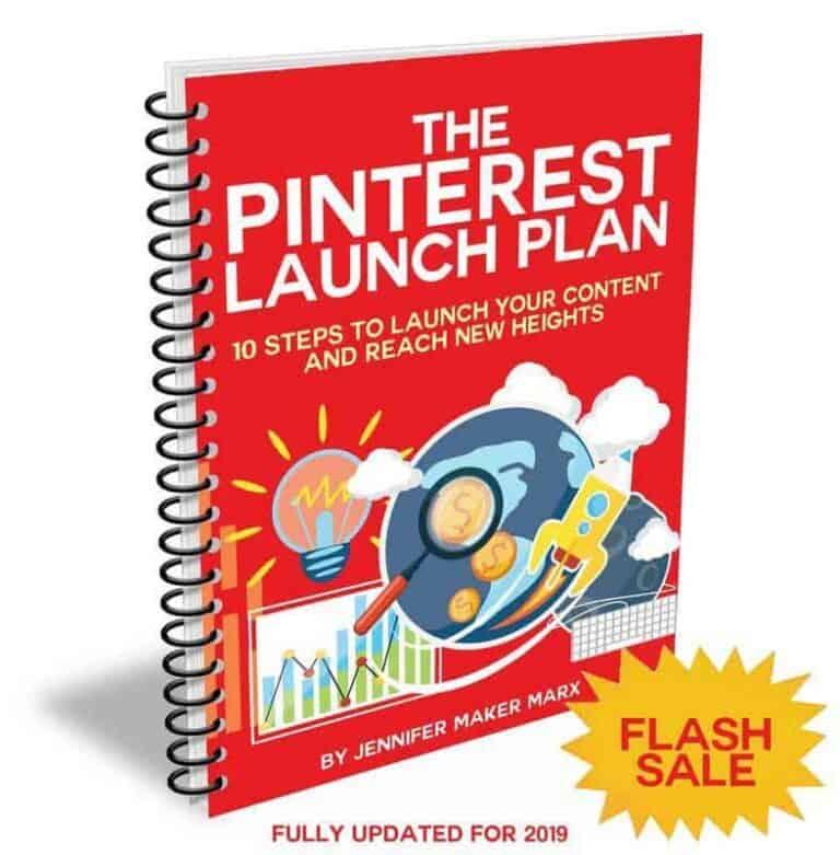 Pinterest Launch Plan by Jennifer Maker Is On Sale