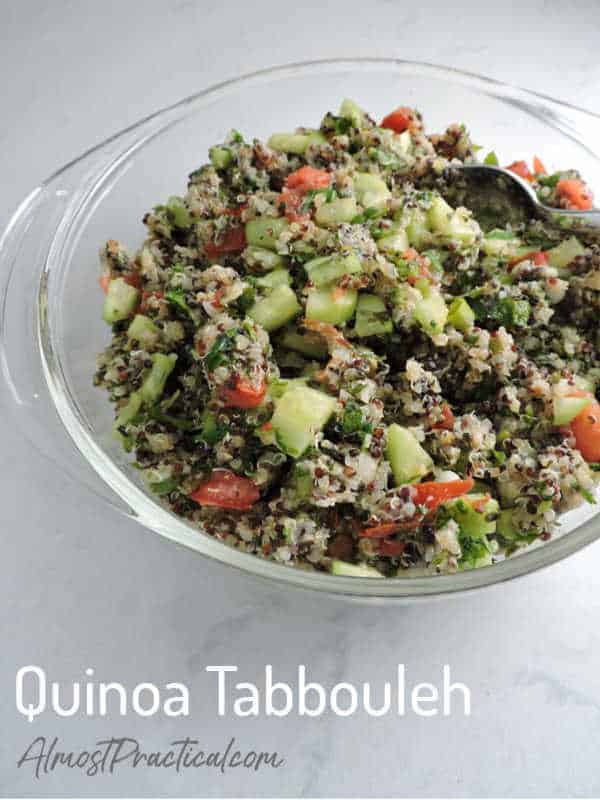 Gluten Free Quinoa Tabbouleh Recipe for Instant Pot
