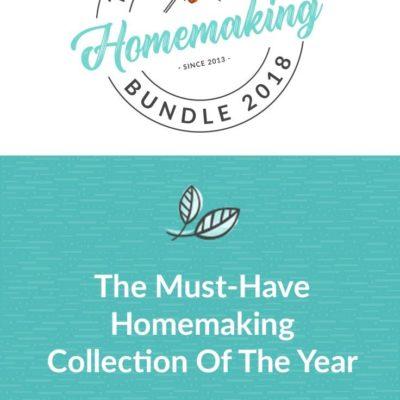 The Ultimate Homemaking Bundle Flash Sale