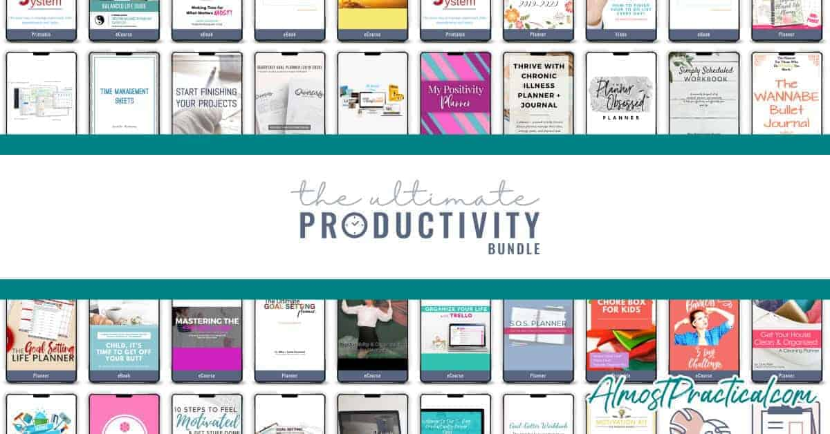Ultimate Productivity Bundle contents